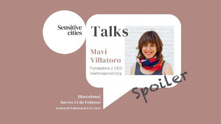 Sensitive Cities Talks Mavi Villatoro Mammaproof