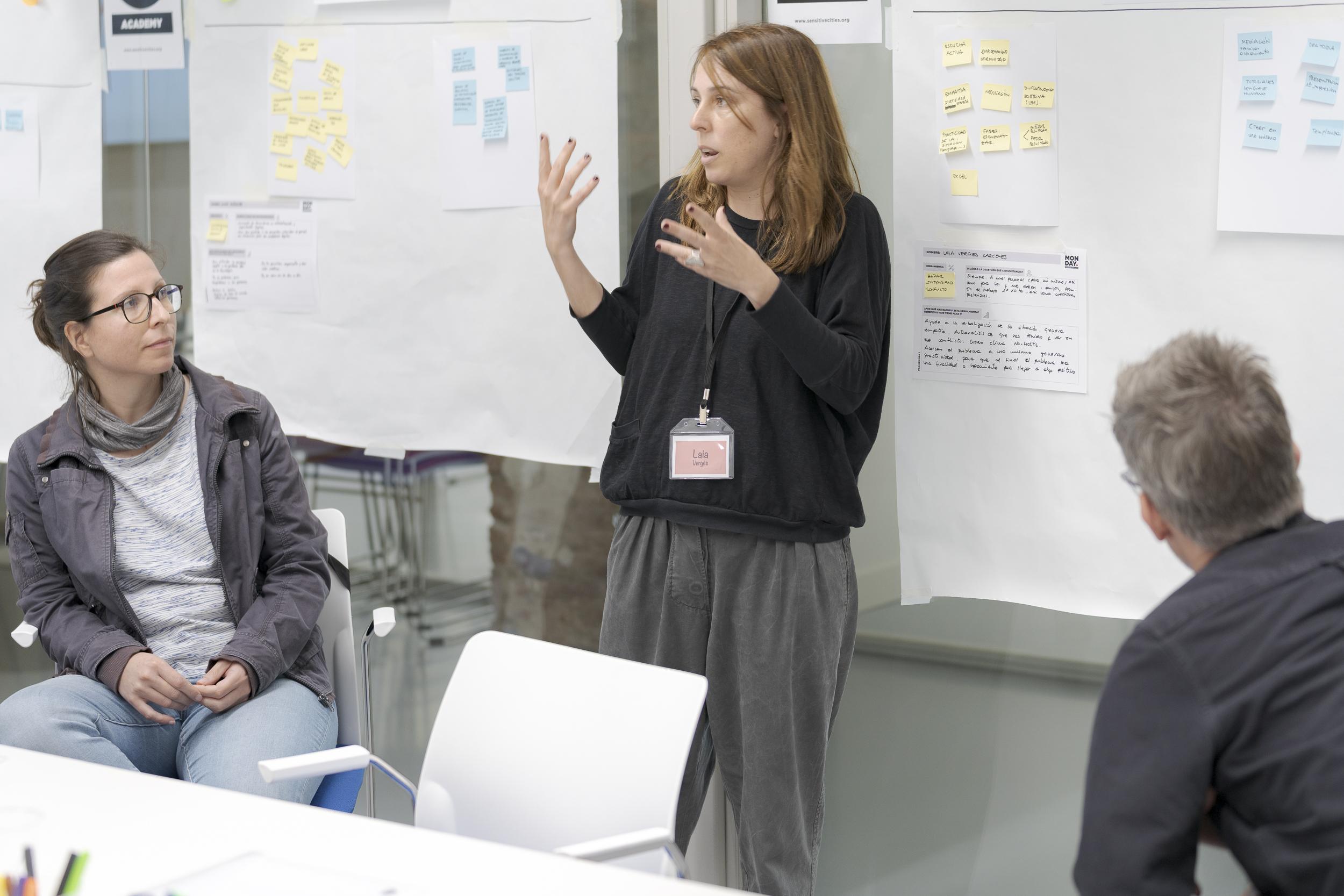 Laia Vergés _ Workshop Descubre tus Talentos _ Sensitive Cities